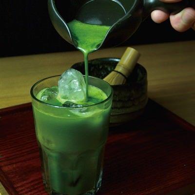 【公式】 炉端 居酒屋 こだわりもん一家の京都 宇治抹茶ハイの画像