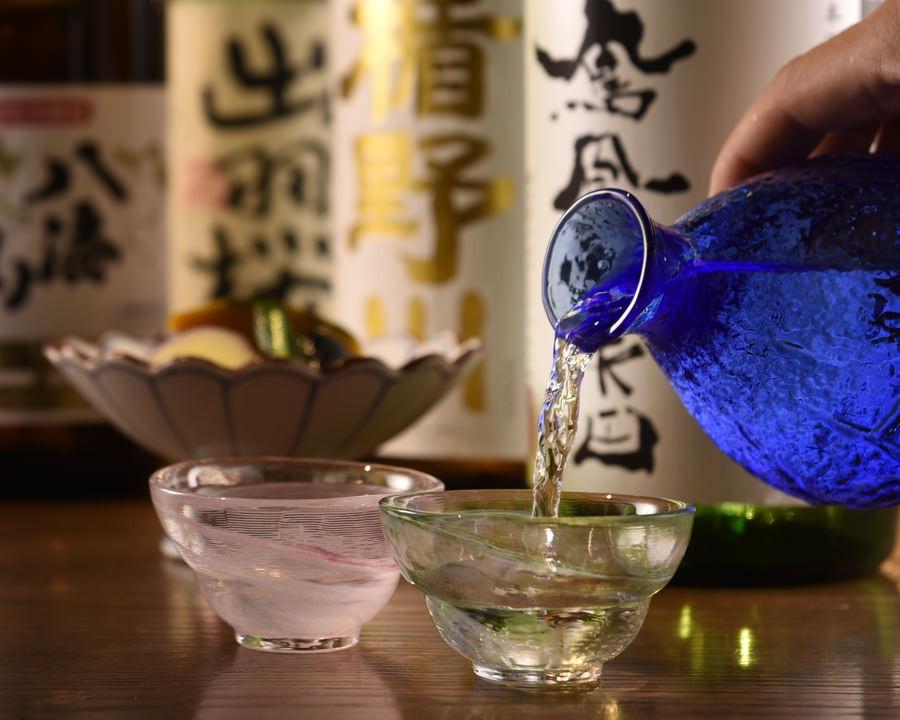 【公式】 炉端 居酒屋 こだわりもん一家の日本酒各種の画像