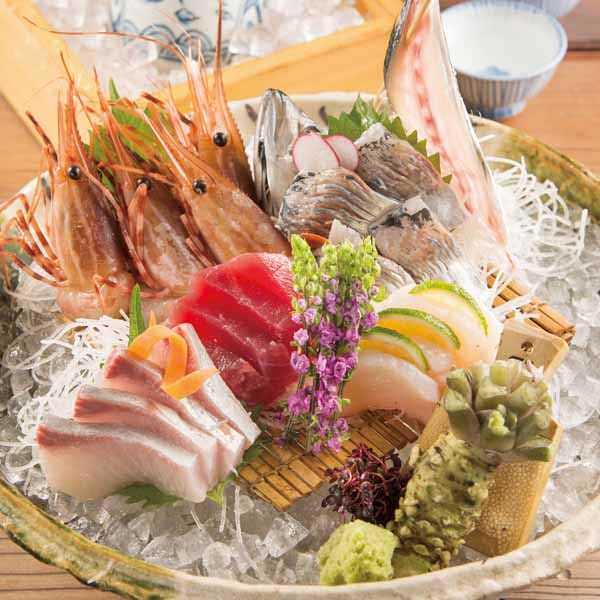【本日の鮮魚】 お造里五種盛り合わせの画像