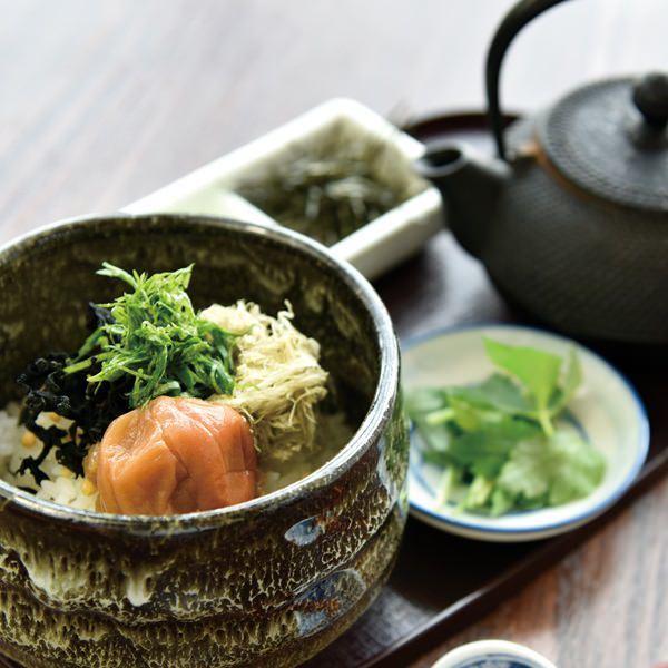 【紀州】完熟南高梅のお茶漬けの画像