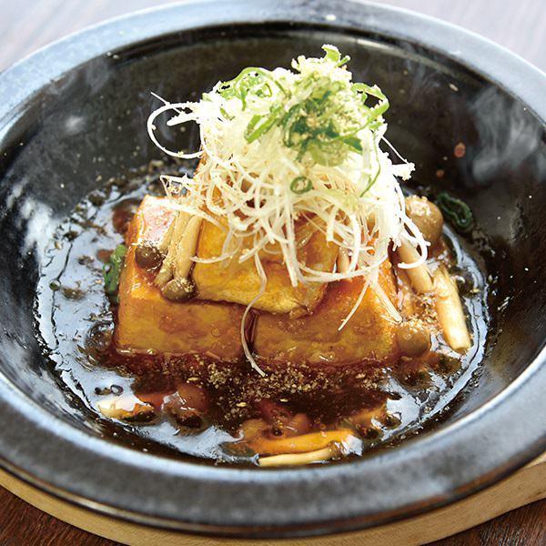 【和歌山】十六豆腐の揚げ出し木ノ子あんかけの画像