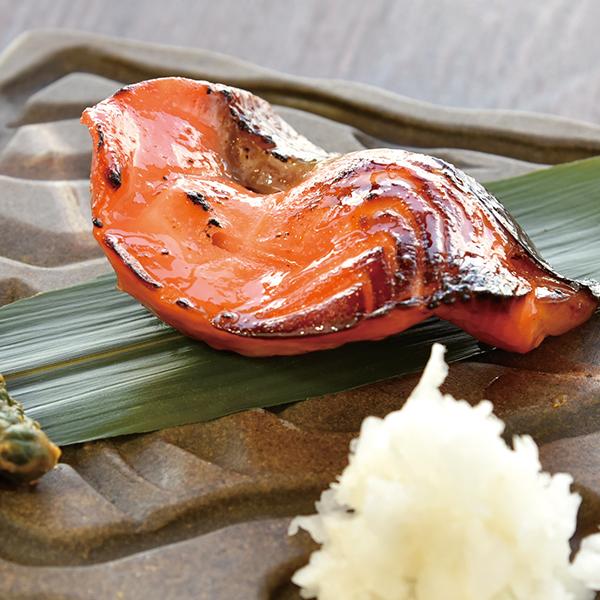 一家特製サーモンの西京味噌漬け焼きの画像