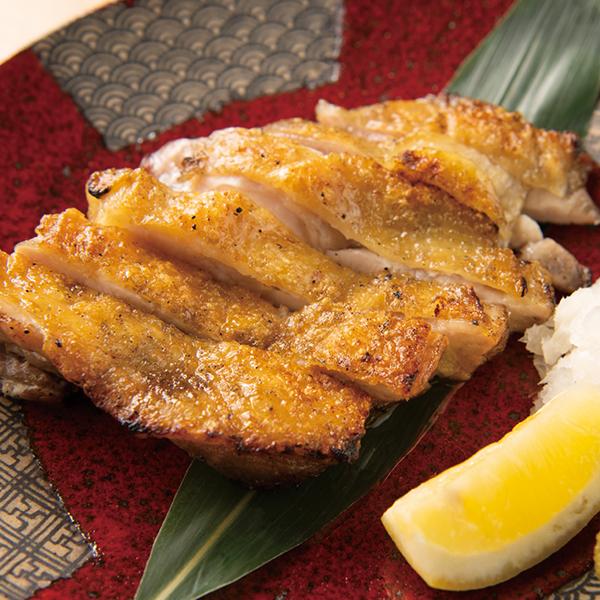 【徳島】阿波尾鶏の網焼きの画像