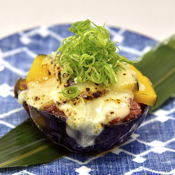 秋丸茄子の特製チーズ田楽の画像