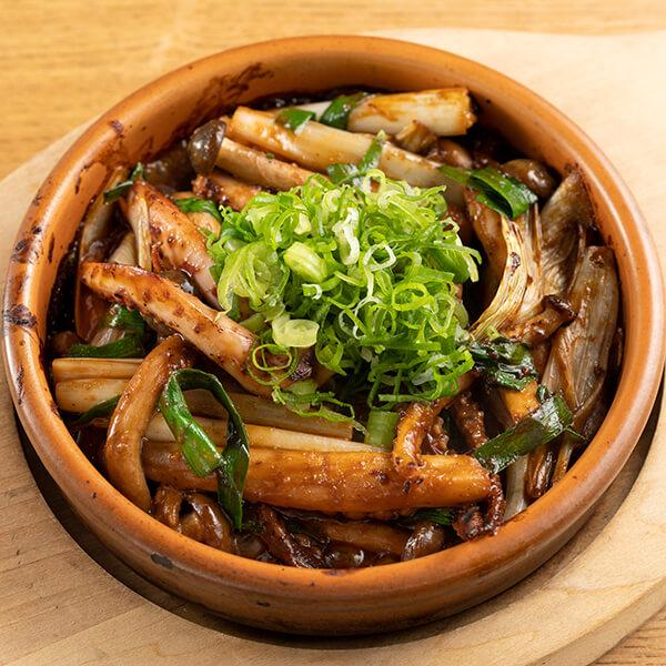 イカゲソのごろ味噌炒めの画像