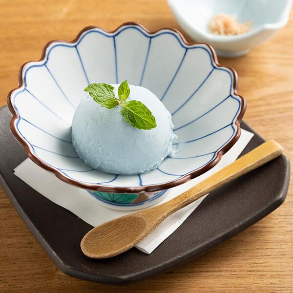 【沖縄】青い塩アイスの画像