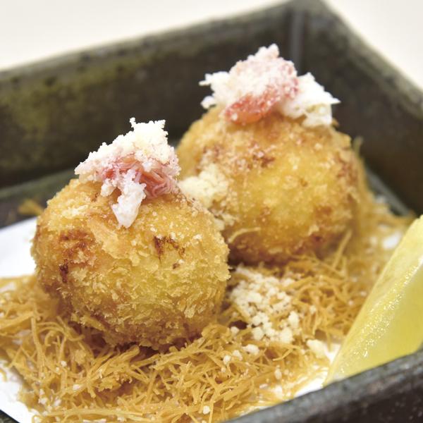 蟹チーズコロッケの画像