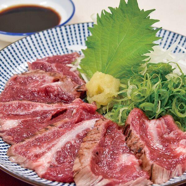 【熊本県千興ファーム】桜肉のたたきの画像