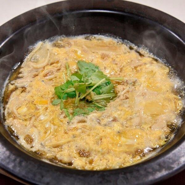 【青森県産】白魚と筍、湯葉の玉子とじの画像