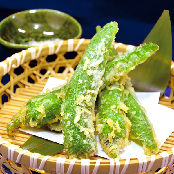 【京都】万願寺唐辛子の天ぷらの画像