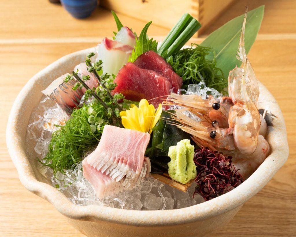 【本日の鮮魚】 お造里5種盛り合わせの画像