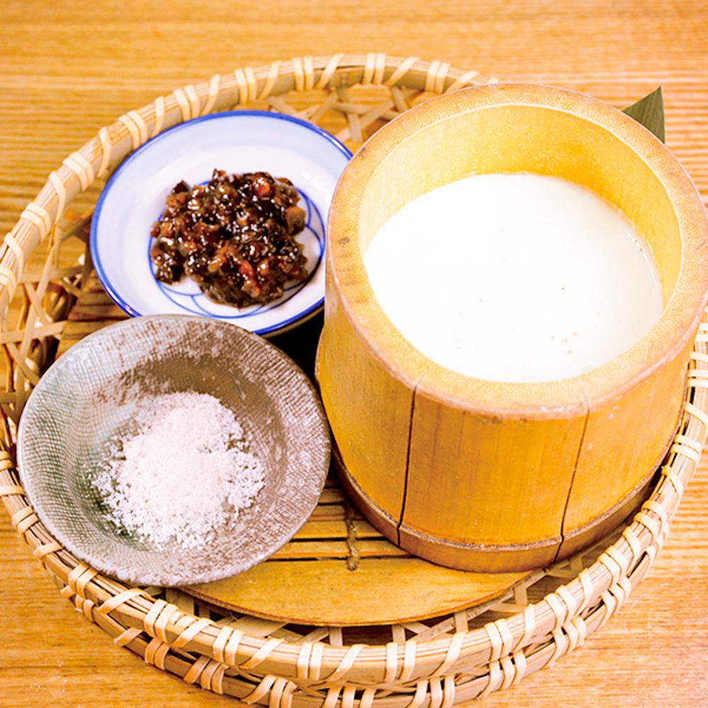 お店仕込みの竹豆腐の画像
