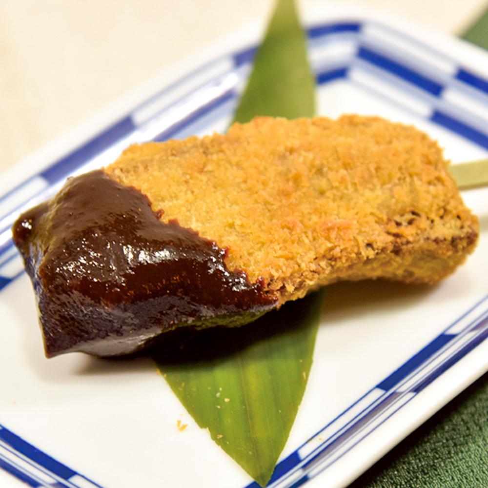柔らか牛タンの桜味噌カツの画像