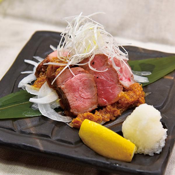 厚切り氷温熟成黒豚の生姜麹焼き