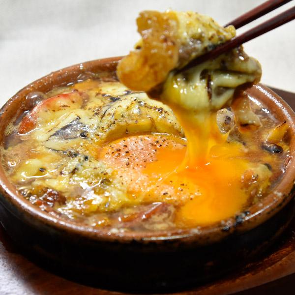 和牛とトマトのチーズすき焼きの画像